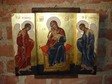 Ein Triptychon von W. Deutsch