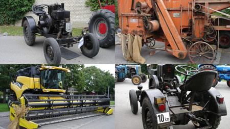 Landmaschinen einst und jetzt