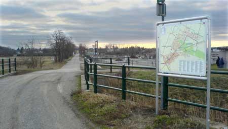 Stadtplan Radweg