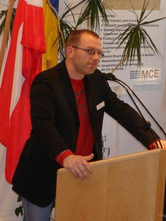 DI Raymann, Organisator des Umwelttages in DW